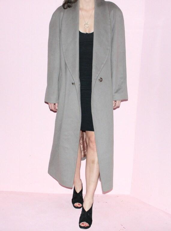 Wool Maxi Coat/ Kristen Blake/ Size 10/ Camel Max… - image 2
