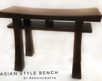 Asian Style Bench Etsy