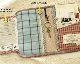 PDF SEWING PATTERN Story book like passport holder | Passport holder | Travel wallet | travel purse | Travel organizer pattern