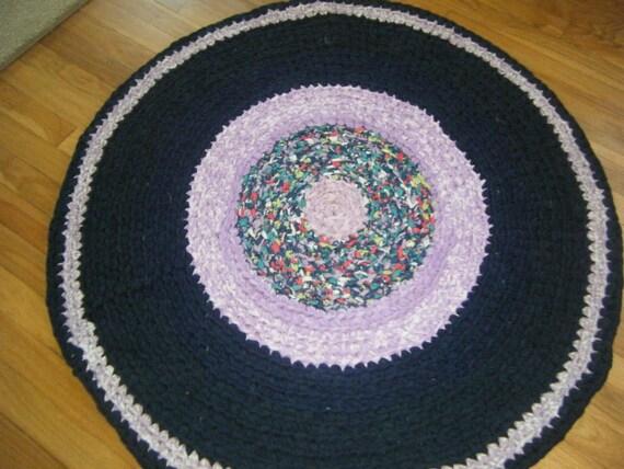 Navy Blue Rug \\ Crochet Rugs \\ Crochet Rag Rugs \\ Kitchen Area Rugs \\ Navy  Blue Rag Rugs