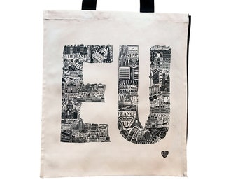 EU Tote Bag - Europe Gift - EU Gift - Remain bag