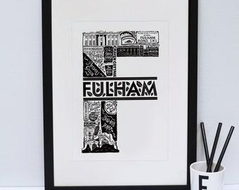 South London Print