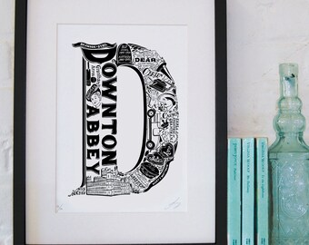 Best of Downton Abbey limited edition screenprint