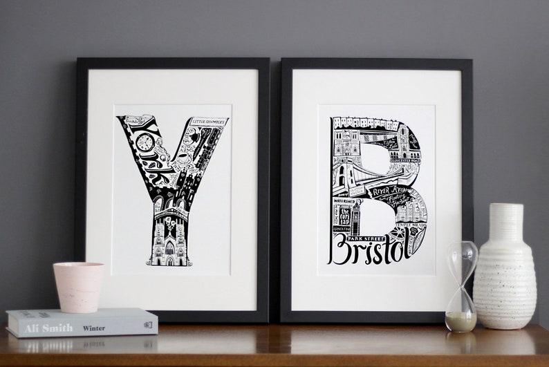housewarming gift Bournemouth Gift Bournemouth unframed Print University Gift Ideas Birthday Gift UK Birthday Gift UK