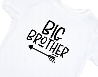 Big Brother Shirt - Pregnancy Announcement - Toddler t-shirt - T-shirt for Boys - Big Brother Outfit - Big Brother T-Shirt