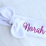 Personalized Headband for Girls - Personalized Baby Headband - Name Baby Headband - Personalized Name Bow - Custom Baby Gift