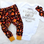 Baby Girl Thanksgiving Outfit - My First Thanksgiving Outfit for Girl - Thanksgiving Outfit for Baby Girl - Fall Outfit for Girl - Baby Girl