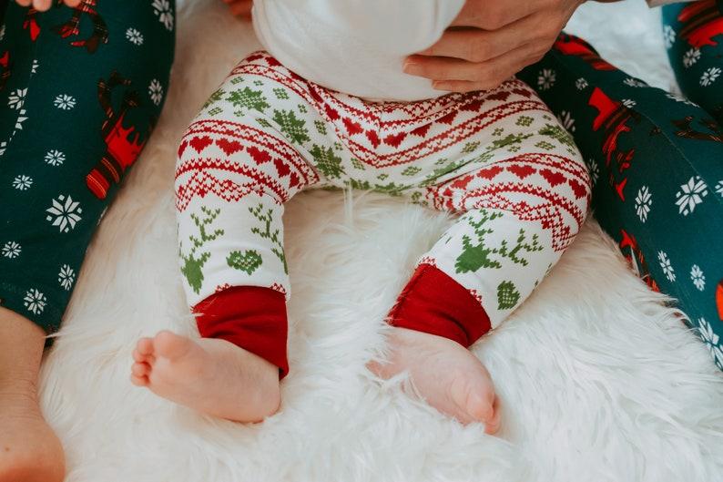 Baby Girl Christmas Outfit  Christmas Pajamas  My First image 0