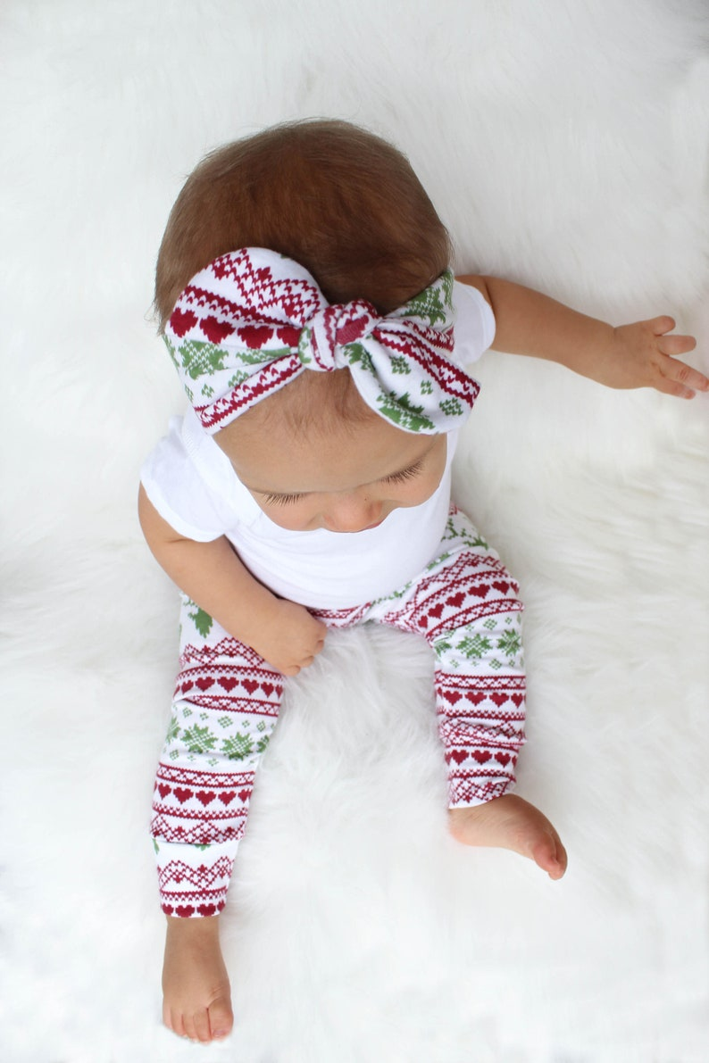 First Christmas Outfit Girl  First Christmas Gift Ideas  image 0