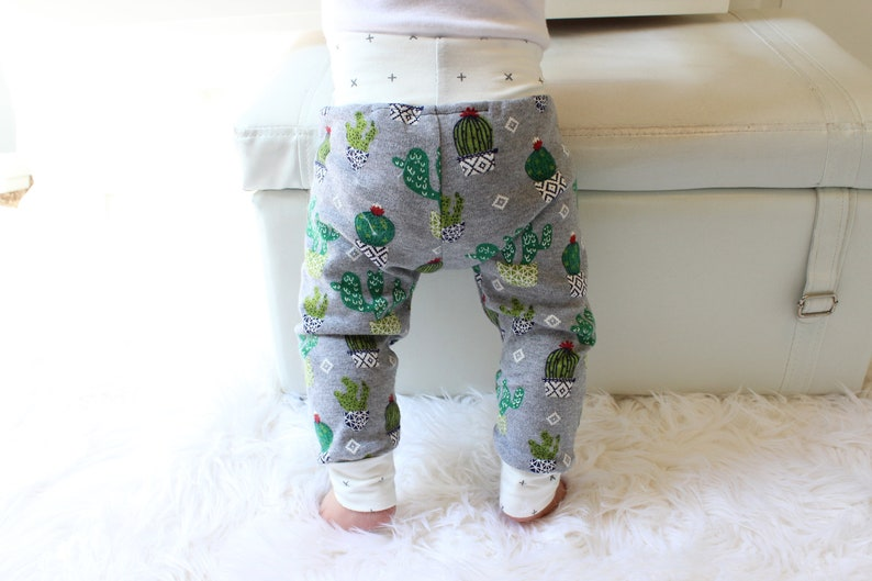 Cactus Baby Leggings  Baby Boy Coming Home Outfit  Newborn image 0
