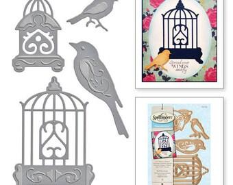 Spellbinders Bird Sanctuary S5-033