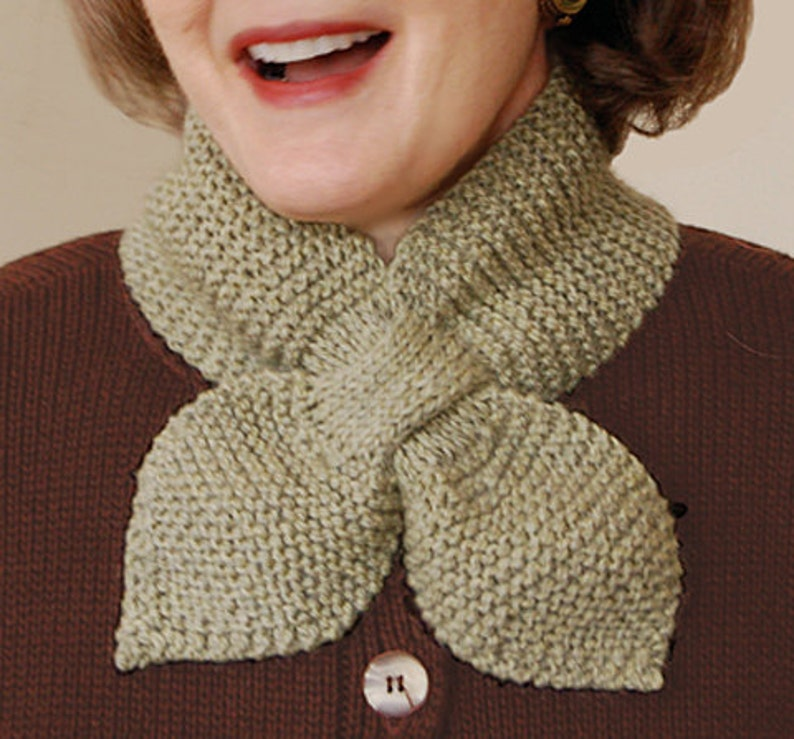 f256913d5 Lotus Leaf Scarf to Knit PDF Pattern Instant Download