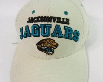 outlet store 5b8ee b9120 Twins Enterprise Jacksonville Jaguars NFL Hat Cap Strap Back Vintage NWT
