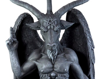 3 Feet Oversized Church Of Satan Sabbatic Goat Baphomet