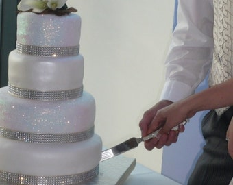 Bling wedding cake Etsy