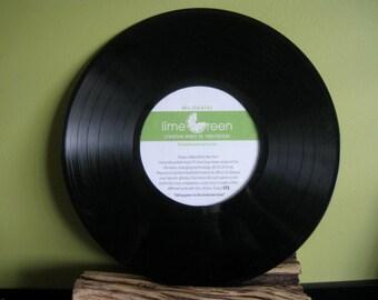 Vinyl Record Photo Frame
