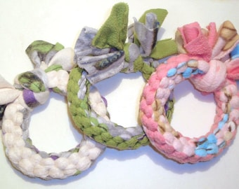 Super Chewer Tug Toys - XL Rings