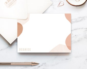 Terra Notes, Personalized Stationery