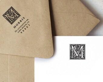 Morris Monogram, Personalized Stationery