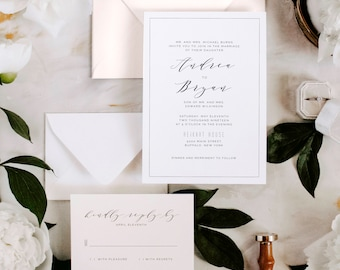 The Marion Suite |  Wedding Invitation Package