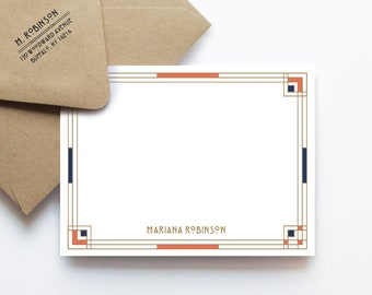 Mission Notes, Personalized Stationery