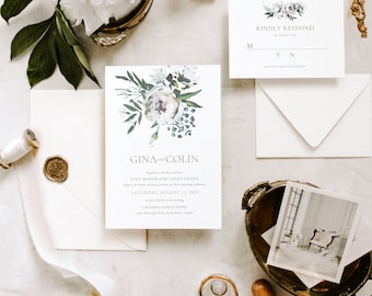 The Lilian Suite |  Wedding Invitation Package