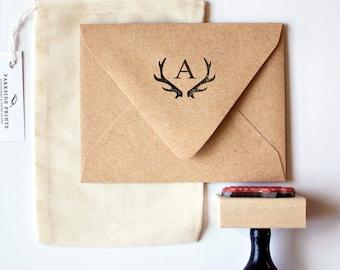 Antler Monogram Stamp