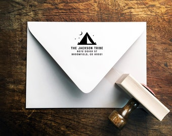 Wander Return Address Stamp