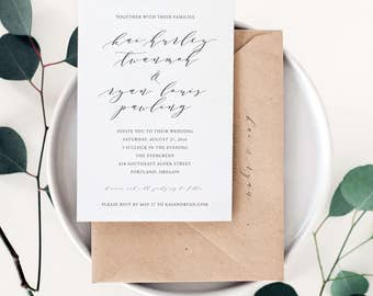 Love at First Sight Wedding Invitation Suite