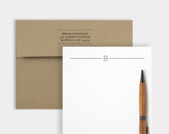 Simplicity, Personalized Stationery