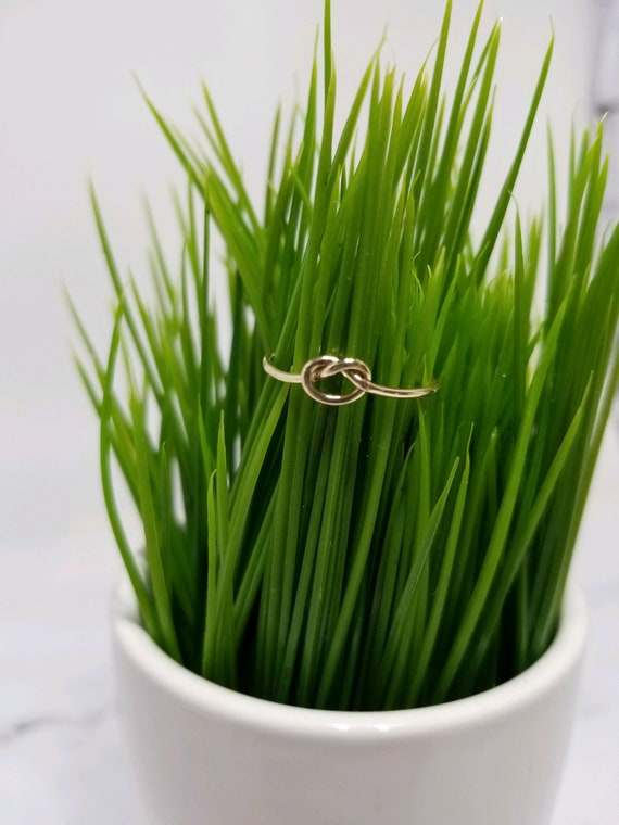 Gold Fill Love Knot Ring