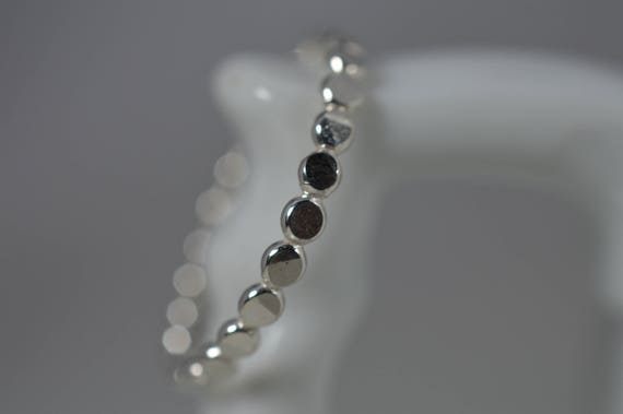 Sterling Silver Hammered Bubble Ring - Midi or Regular ring
