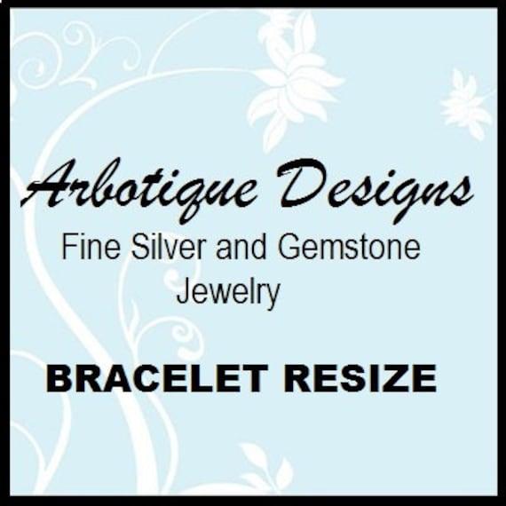 Bracelet Resize with Return Shipping
