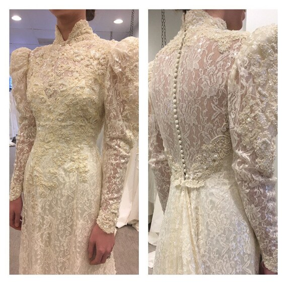 Victorian Wedding Gown Victorian Wedding Dress Se… - image 9