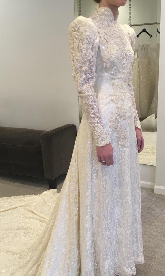 Victorian Wedding Gown Victorian Wedding Dress Se… - image 8