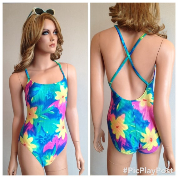 1990s Swimsuit 90s Swimsuit 90s Catalina Swimsuit