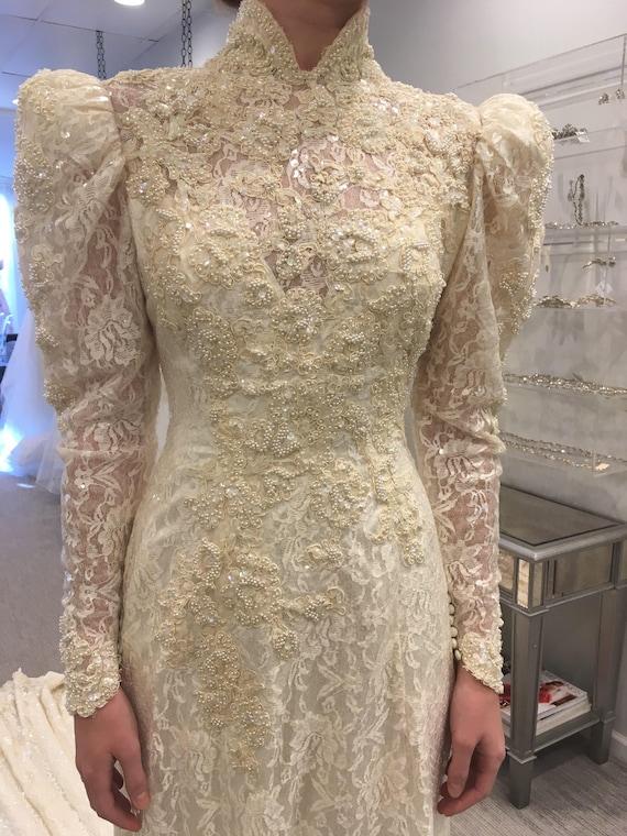 Victorian Wedding Gown Victorian Wedding Dress Se… - image 7