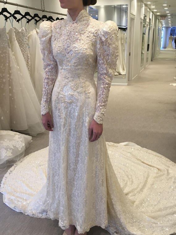 Victorian Wedding Gown Victorian Wedding Dress Se… - image 5