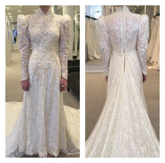 Victorian Wedding Gown Victorian Wedding Dress Se… - image 1