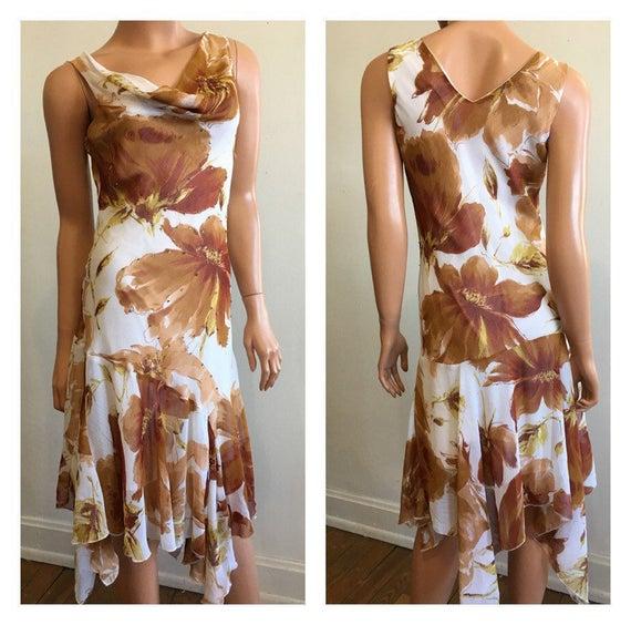 Beaded Flapper Dress White Flapper Dress Garden P… - image 3