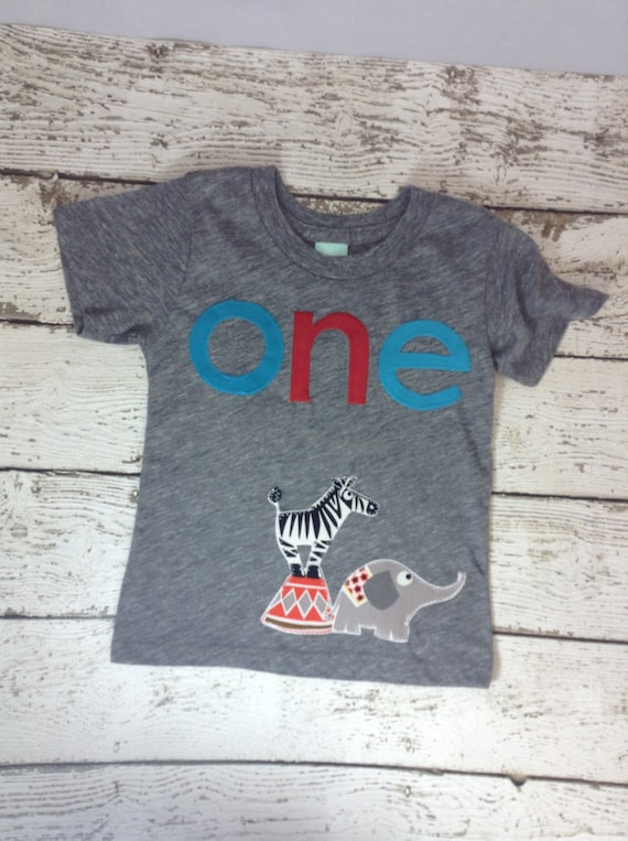 Ready To Ship First Birthday Shirt One Giraffe