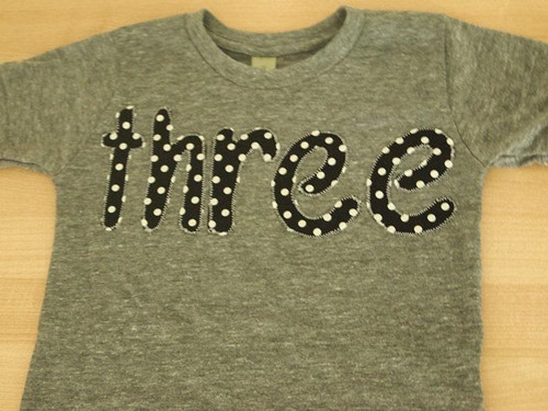 3fa0cbfbd016 Black and white polka dot Shirt Girls Birthday Tee Organic   Etsy