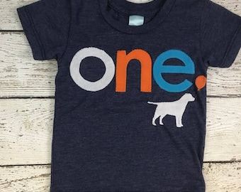 Dog Birthday shirt Customize colors white orange turquoise Organic blend tshirt Labrador Retreiver