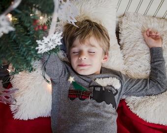 Train pajama, Christmas train, polar, Christmas Pajamas, Holiday Pajamas, Christmas pj for boy, Boys Christmas present, pajama, steam train