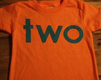 simple birthday shirt design blue and orange tshirt birthday shirt custom first second etc