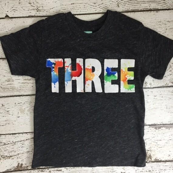 Paint Party Splatter Shirt Invitation
