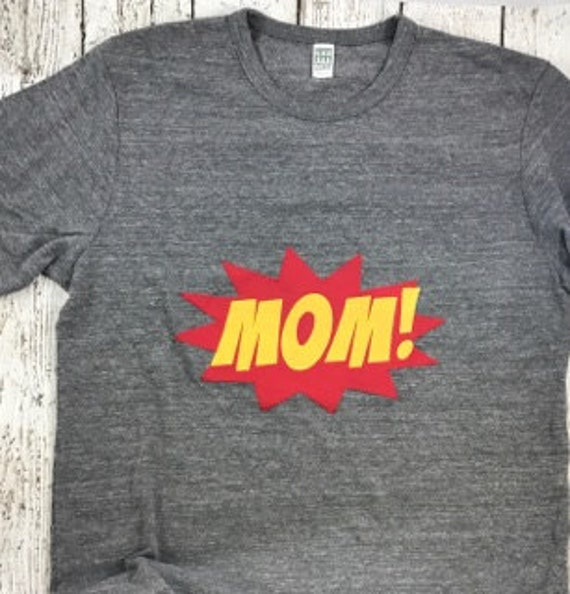 Super Mom T-shirt Mom Squad Tee She Persisted Love Me Tops Mom Birthday Present