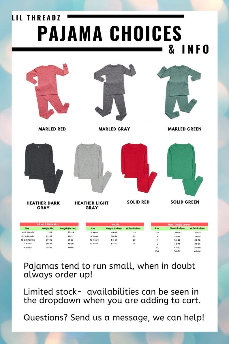 Christmas Pajamas baby toddler children/'s adult pajamas Santa pajamas Christmas pj for family Holiday Pajamas Hipster Santa Pajamas