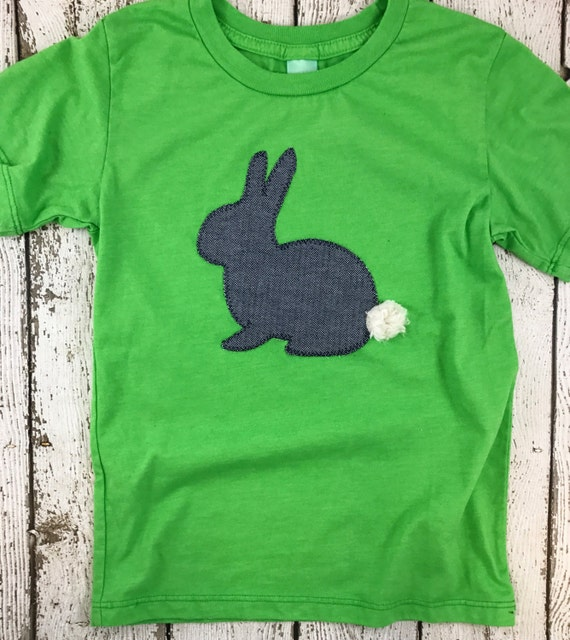Personalised Easter Bunny Boys Children/'s Kids T Shirts T-Shirt Top 2nd 3rd 4th