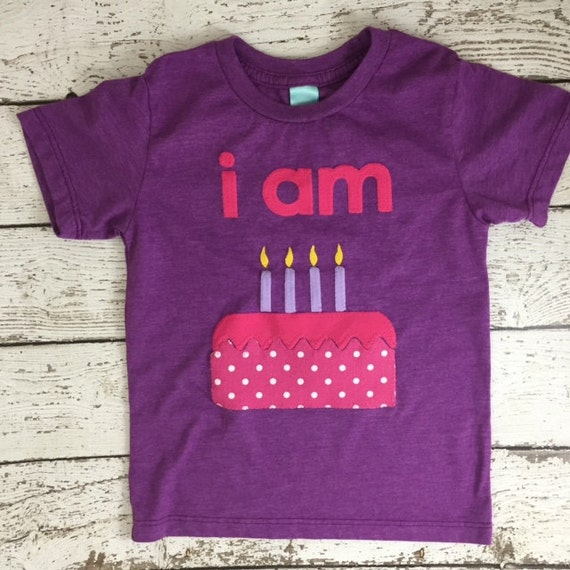 Im This Many Shirt Childrens Birthday Shirt Girls Birthday